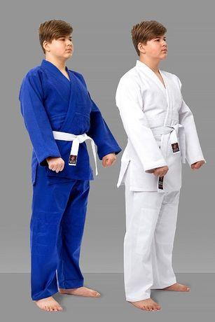 кимоно кімоно кімано дзюдо джиу джитсу айкидо белое синее біле синє