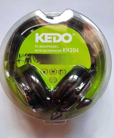 Słuchawki z mikrofonem KEDO KH204 PC