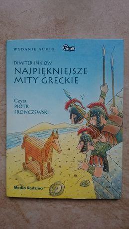 """audiobook Dimiter Inkiow """"Najpiękniejsze mity greckie"""""""