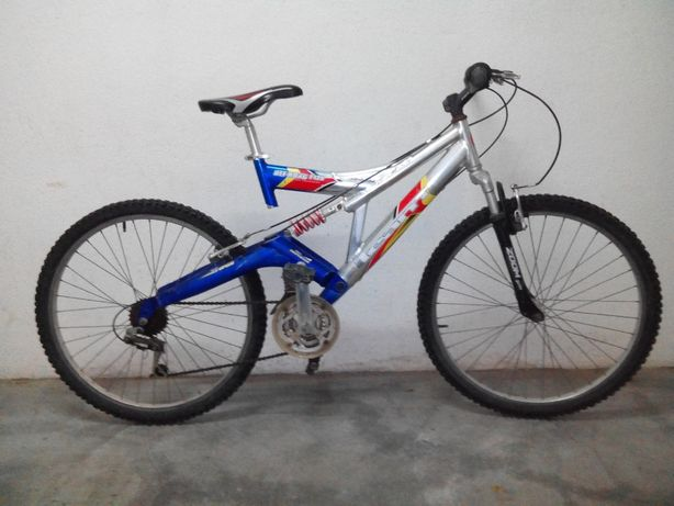 Bicicleta Off Road F 120 Full Suspension + capacete