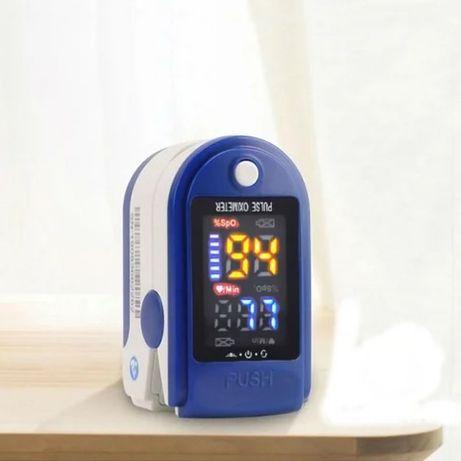 Пристрій для вимірювання пульсу та кисню в крові