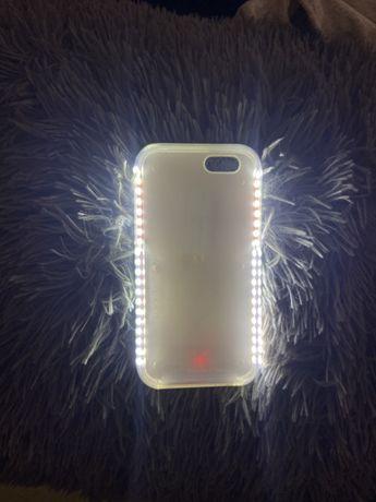 Capa com LED para iphone 6