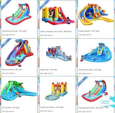 Insufláveis Aquaticos (uso doméstico) varios modelos Happy Hop