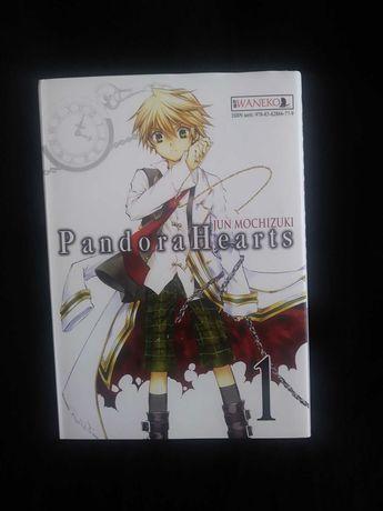 Pandora Hearts- 1- manga + GRATIS switched