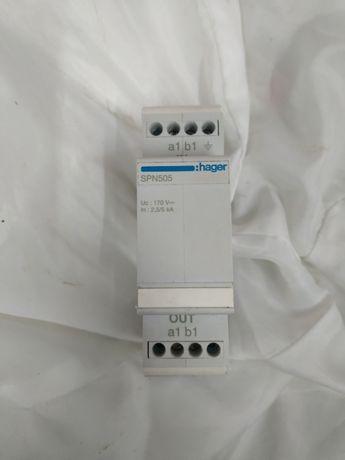 Hager SPN505 Limitador sobretensão p/linha telefonica