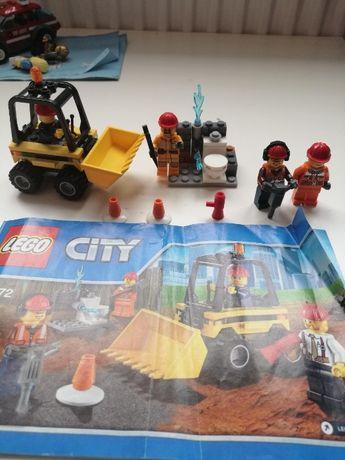 Lego 60072 remont/budowa