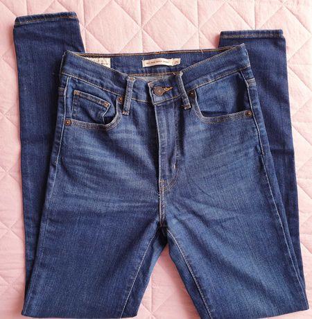 Levis Mile High Super Skinny 25 jeansy dżinsy