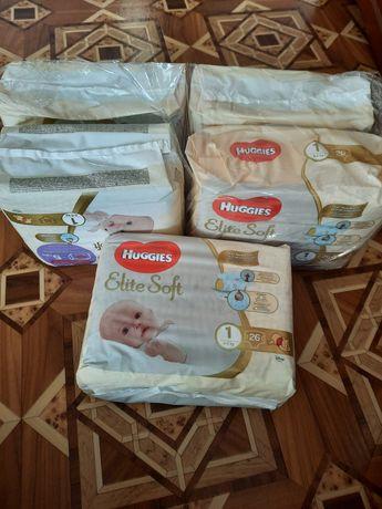 Продам памперси Huggies Elite Soft