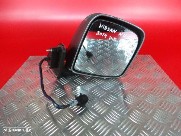 Espelho Retrovisor Direito Electrico Nissan Nv200 / Evalia Autocarro