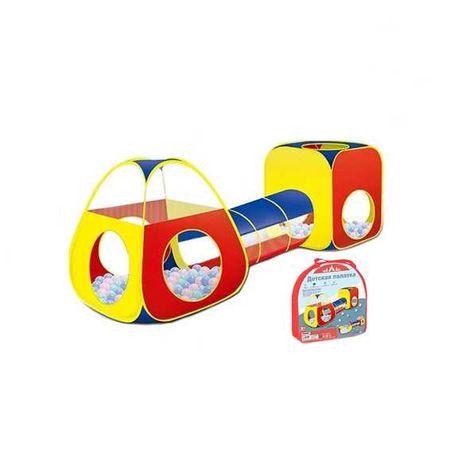 Игровая детская палатка с тоннелем, домик для игр.