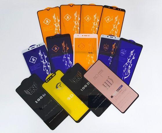 Стекло 6D 5d Xiaomi redmi note 9c Mi 8t 9t 9se 9a A2 3 lite 7a 6 5 pro