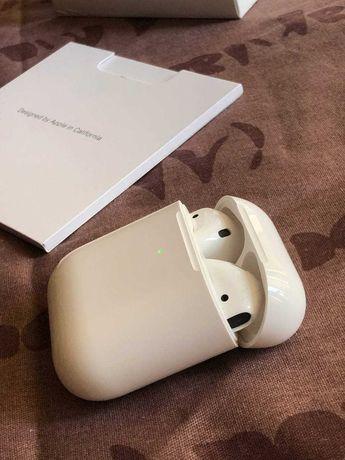 Как новые Apple AirPods 2, полный комплект