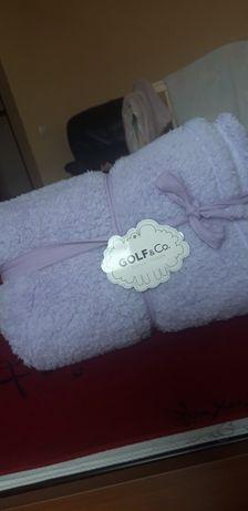 Продам новый детский плед, одеяло, полотенце