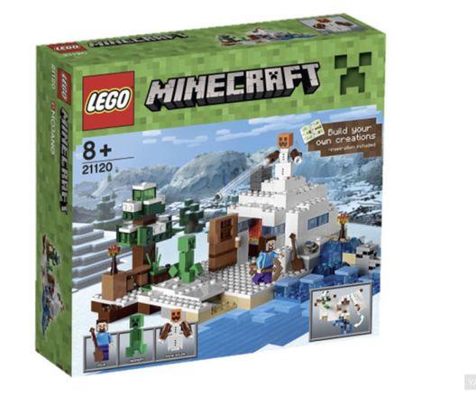 Конструктор Lego Minecraft снежное убежище
