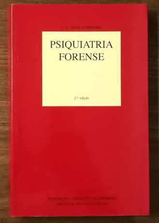 psiquiatria forense, j.c. dias cordeiro, gulbenkian