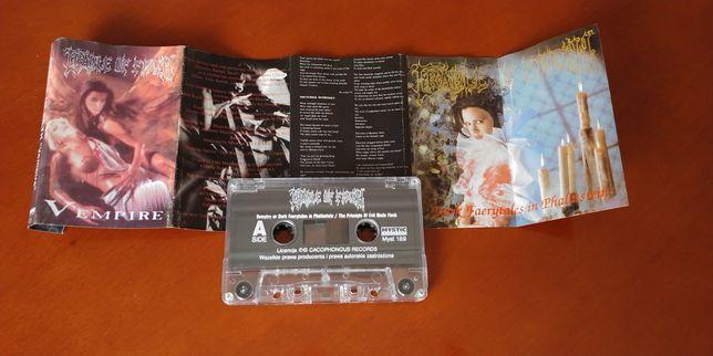 CRADLE OF FILTH - VEMPIRE kaseta magnetofonowa