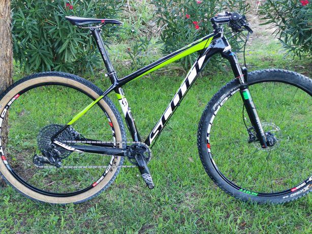 1399€ Scott scale 29er carbon 9.6kg Rodas crest com cubos DT swiss 350
