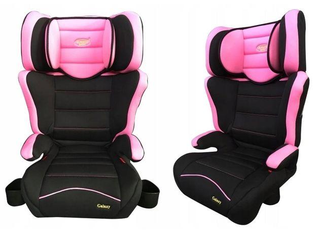 Fotelik samochodowy 15 - 36 kg Summer Baby GALAXY 2 kolory SZARY/RÓŻOW