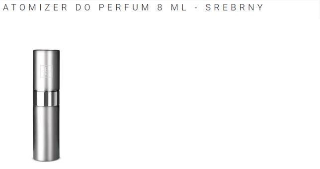Atomizery do perfum FM - srebrny i złoty - matowy aluminium