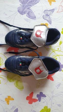 Кроссовки футбольные бутсы Diablo размер 34 натур кожа