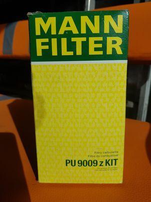 MANN-FILTER filtr paliwa PU 9009 z KIT