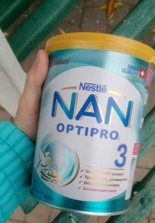 Смесь NAN OptiPro Premium 3 (800грамм)
