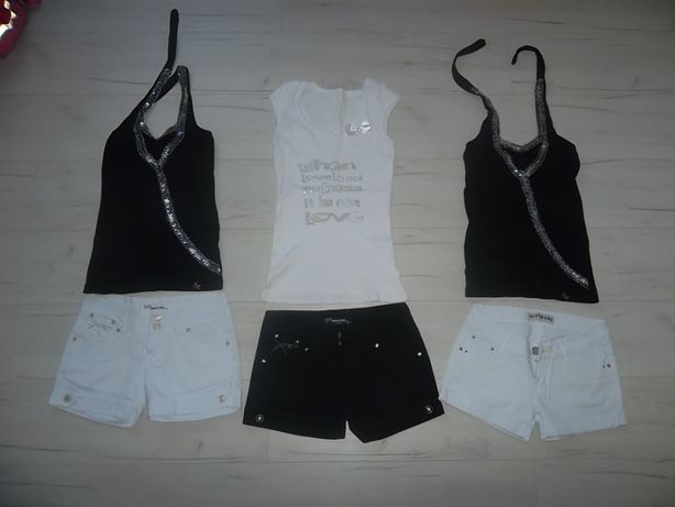 MEGA paka ubrań damskich NOWE i używane-spódniczki,sukienki,spodnie