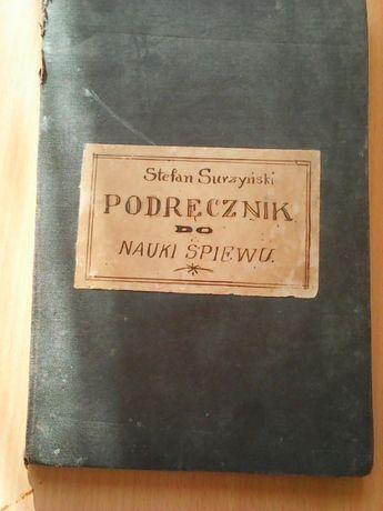 S.Surzyński-Podręcznik do nauki śpiewu