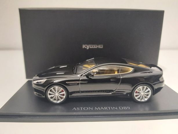 Aston Martin DB9 Onyx Preto 1:43 Kyosho