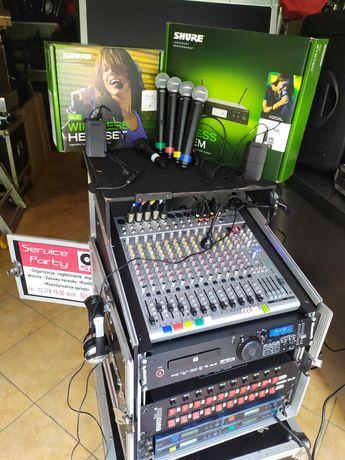 Nagłośnienie JBL Mackie HK projektor światło led scena mixer mikrofon