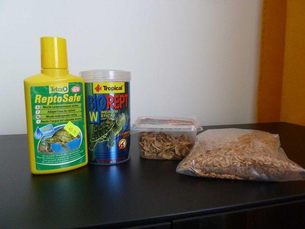 Dla żółwia wodnego-Gammarus+Tropical Biorept+Reptosafe (nowy)