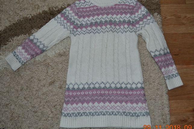 Продам свитер на девочку 7-9 лет