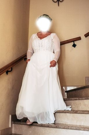 Suknia ślubna SABE duży rozmiar