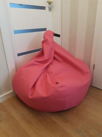 Puf Tipi Oskar Perek worek sako wysoka jakość fuksja magenta różowy XL