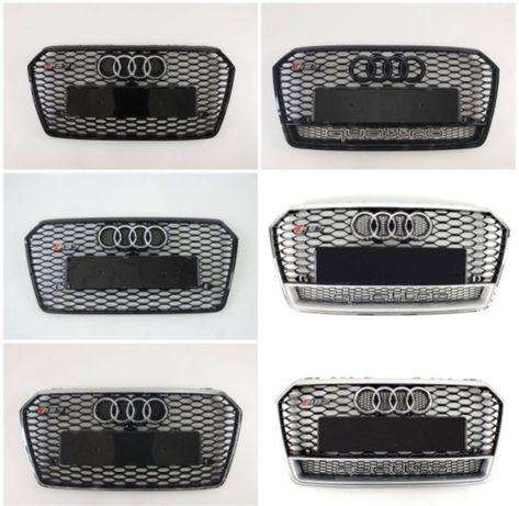 решетка радиатора Audi A1,A3,A4,A5,A6,A7,A8,Q3,Q5,Q7,S1,S3,S4,S5,S6,S7