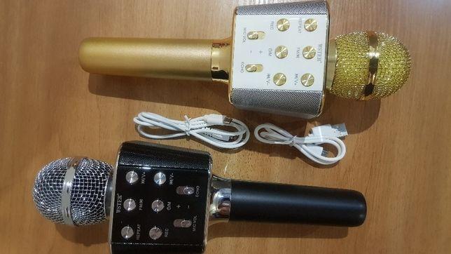 WS-1688 - для караоке - уникальный / микрофон - Bluetooth / Echo