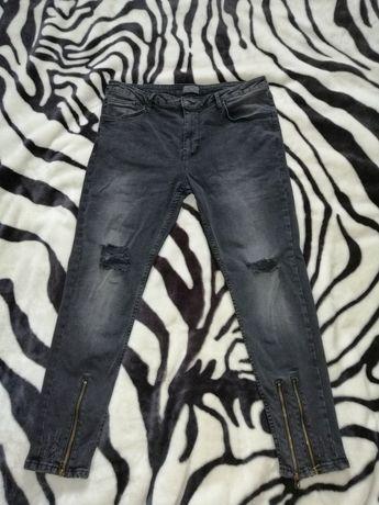 Spodnie jeansy męskie ZARA MAN 34