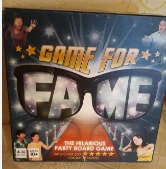 настольная игра игра еа английском языке Game for Fame the board game