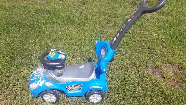 Samochodzik zabawkowy Deluxe mega car niebieski dla dzieci