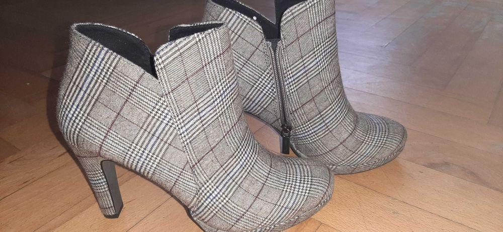 Tamaris buty w kartę  r.39 Pruszcz Gdański - image 1