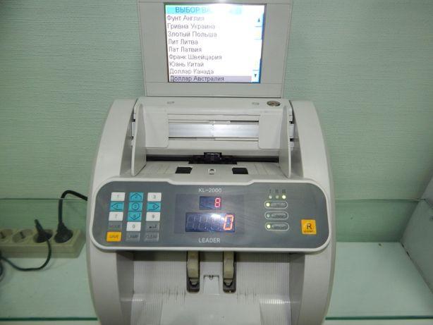 счетчик банкнот Leader KL-2000/1