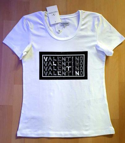Valentino t-shirt bluzka roz L nowa z metką