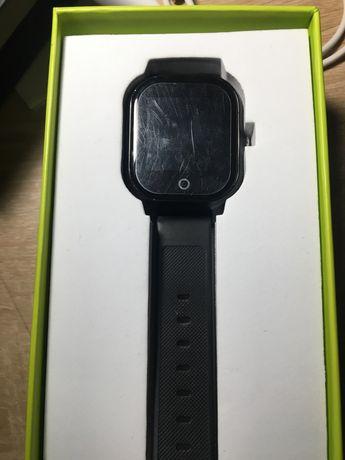 Водонепроницаемые смарт часы Jetix DF50 Ellipse (black)