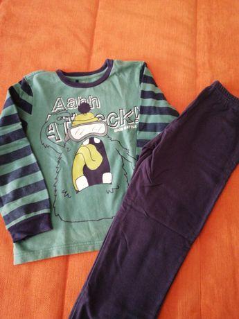 Pijama Chicco Tam. 7 anos