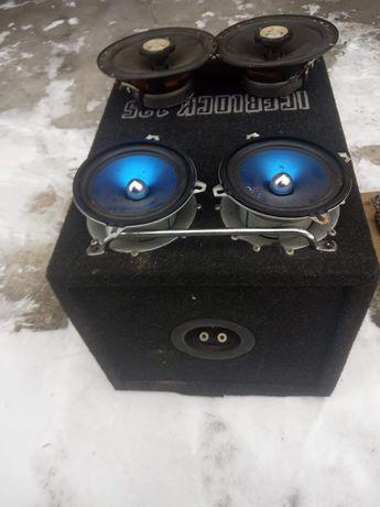 Car audio subwoofer mac audio iceblock 125 wzmacniacz głośniki 13 i 16