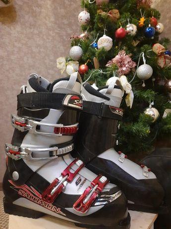 Лыжные ботинки salomon 42 р.