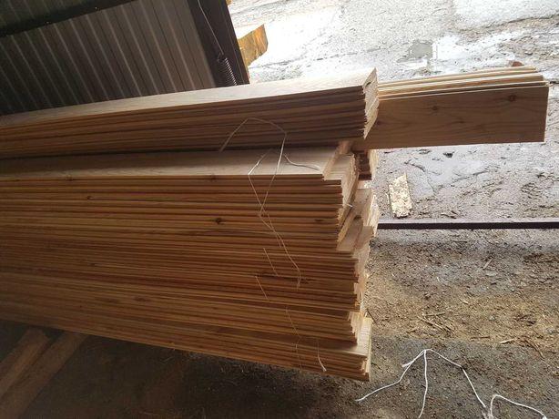 Podbicie Dachowe / deska elewacyjna 2cm Modrzew 20x90mm
