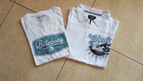 Conjunto t-shirt e polo Billabong menino 12 anos