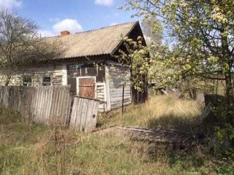 Продам землю с не жилым домом