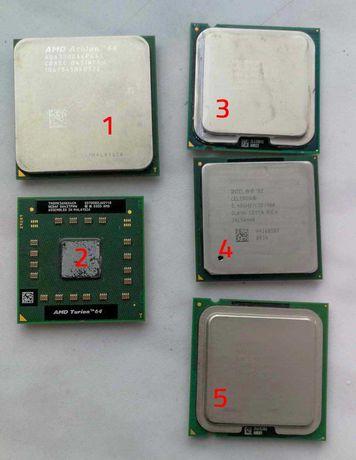 Procesory, Pentium D, C2D 6400, Athlon64, Turion64